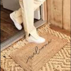 FREE ITEM with $200 SPEND Accompany Jute Welcome Mat